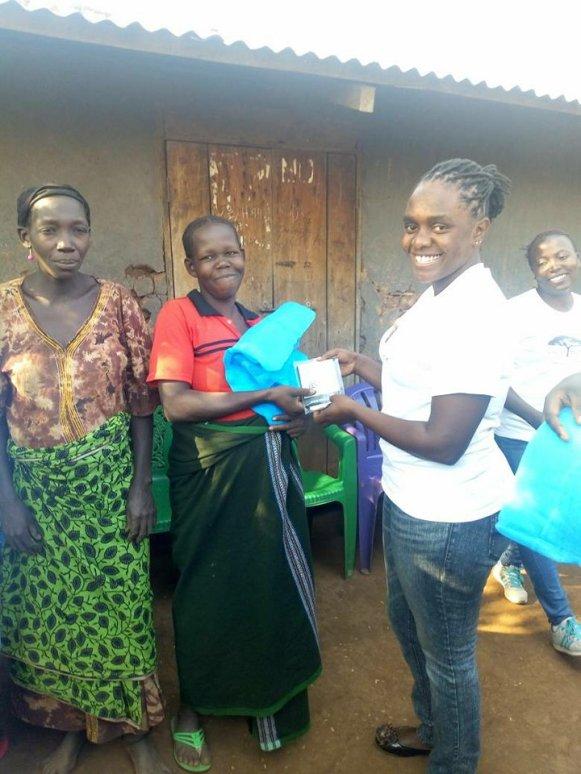 kihojo giving mama kit