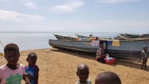 ngoma boats children and laundry