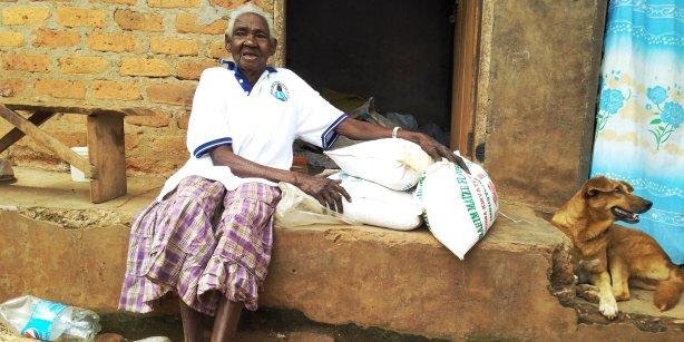 Maria Kayaga 100 year old