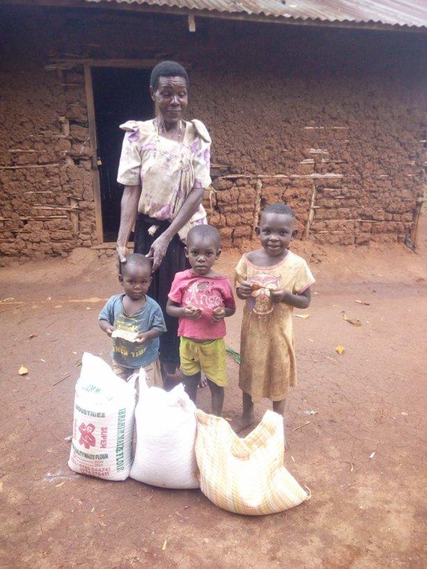 Nyamumbubi Nyansiano from Nyamyehebo village Kwali sub